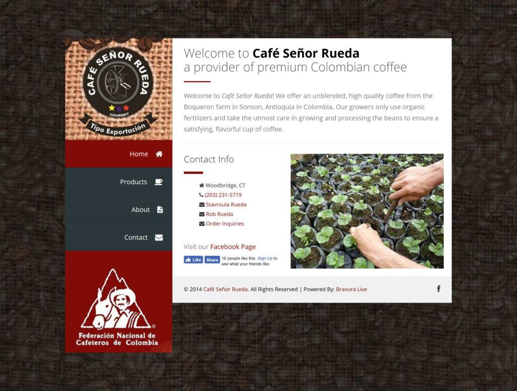 Café Señor Rueda Screenshot